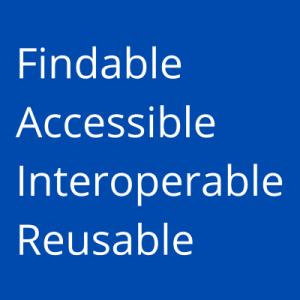 Findable, Accessible, Interoperable, Reusable