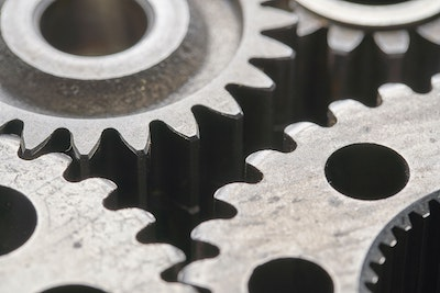 Image of machine gear