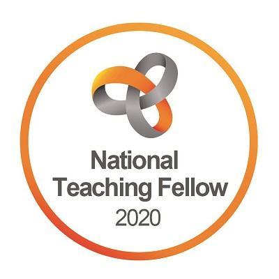 National Teaching Fellow 2020 logo