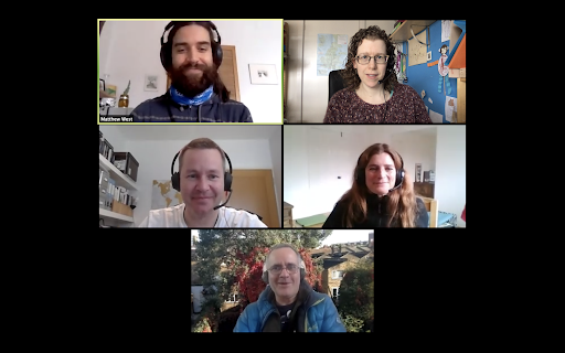 Storyboarding Sustainability group members