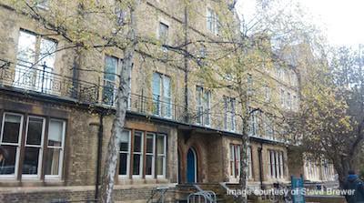 Image of Oxford e-Research Centre entrance