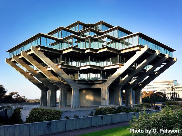 The Geisel Library, UC San Diego