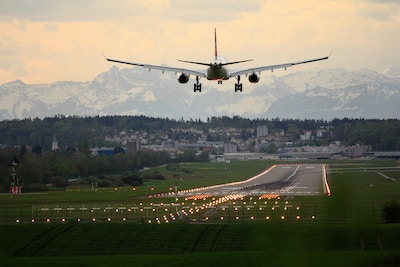 plane taking-off