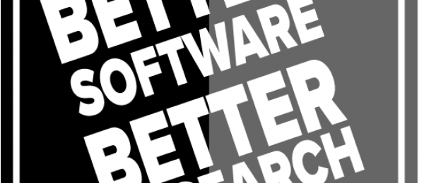 Better Software Better Research strapline