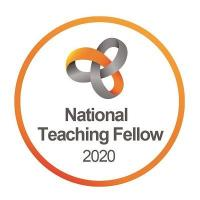 National Teaching Fellow 2020 logo