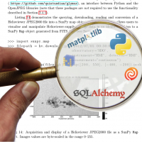 Matplotlib and SQLAlchemy under magnifying glass